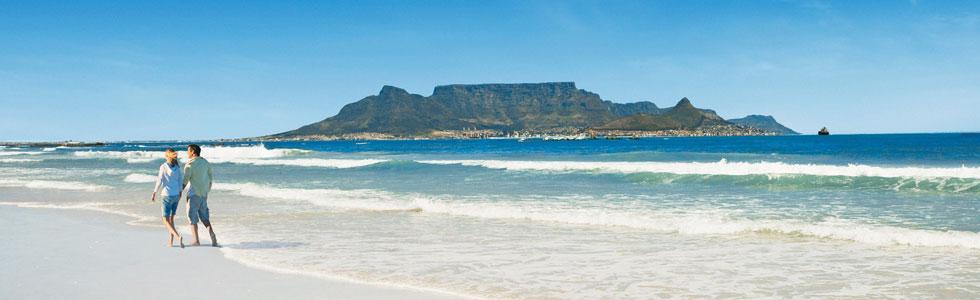 Strandspaziergang während longstay Golf In SüDafrika - Sunbirdie
