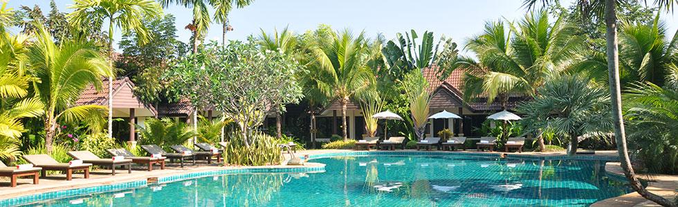 Schwimmbad beim long stay thailand golf - Sunbirdie