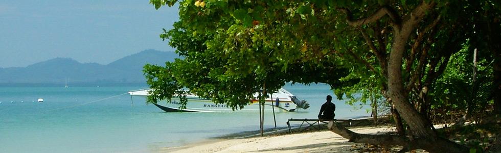 Scandinavian Dorfstrand beim long stay thailand - Sunbirdie