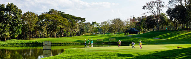 Golf spielen am Chiangrai Golfplatz während Long stay | Sunbirdie