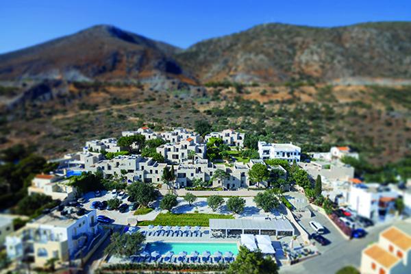 Sundance Luftaufnahme während long stay at Kreta | Sunbirdie