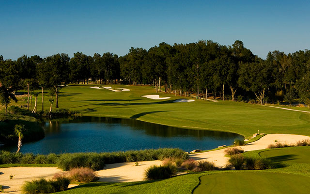 Golfplatz bei Juliette Falls in Long Stay Golf Florida | Sunbirdie