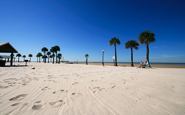 Inverness Strand während Long Stay Florida | Sunbirdie