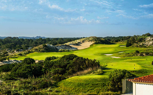 Golfplatz im langen long stay golf Portugal  | Sunbirdie