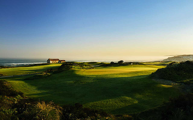 Golfplatz am Abend av Praia del Rey während  Longstay Portugal | Sunbirdie