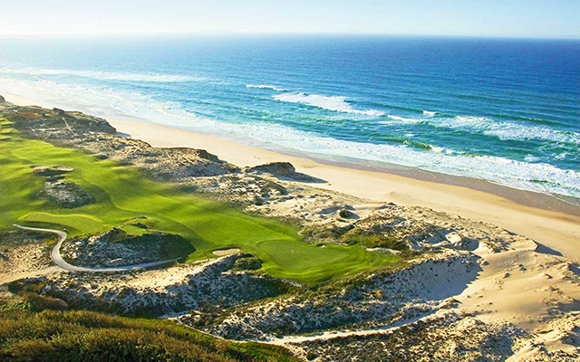 Golf am Meer in Praia-del-Rey während  Longstay Portugal Golf | Sunbirdie