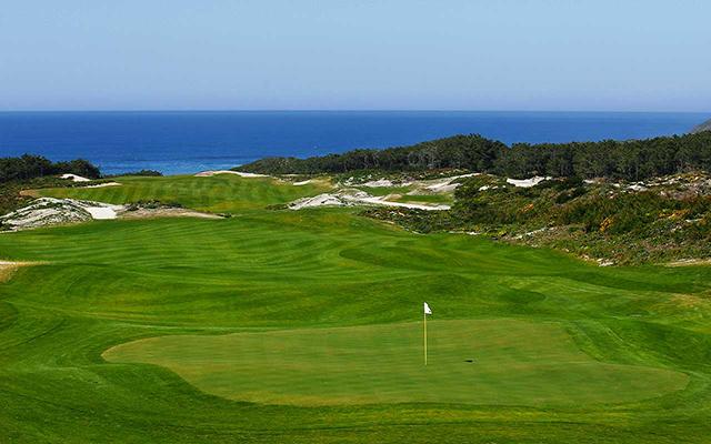 Praia-del-rey West Cliffs Golfplatz während Longstay Portugal | Sunbirdie