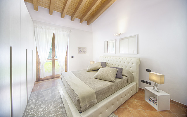 Schlafzimmer in Monterosi golf club während long stay Italien | Sunbirdie