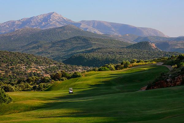 Bergseite golfplatz long stay Kreta | Sunbirdie