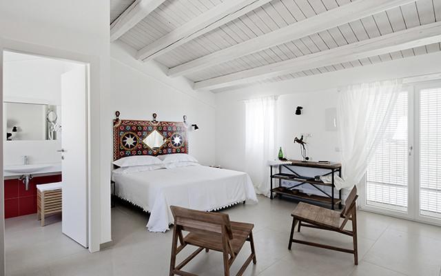 Schlafzimmer in La-Scibina während long stay Italien | Sunbirdie
