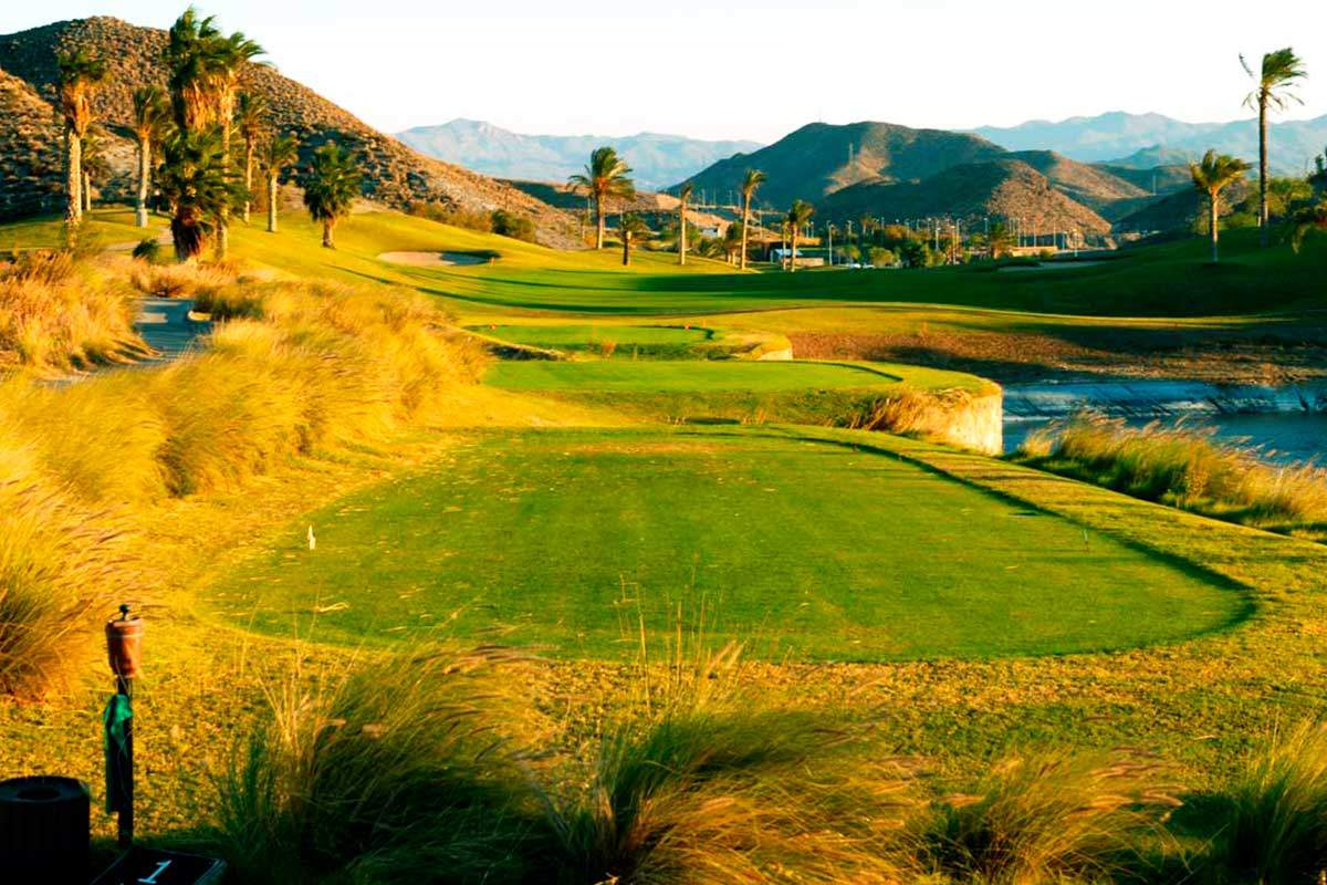 Costa Almeria Golfplatz während Longstay Spanien | Sunbirdie