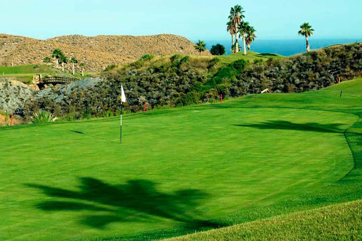 Golfplatz in Costa Almeria während long stay Spanien | Sunbirdie