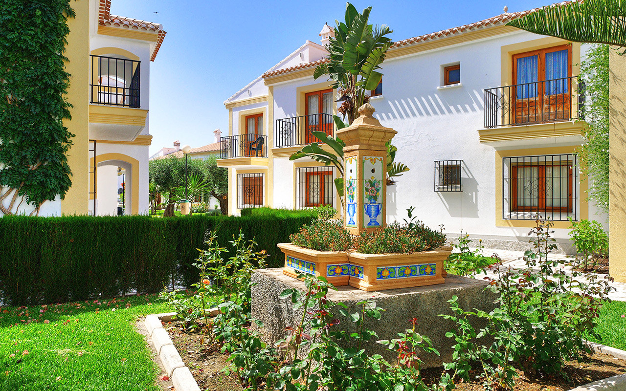 Costa Almeria Gartenresort während Longstay Spanien | Sunbirdie