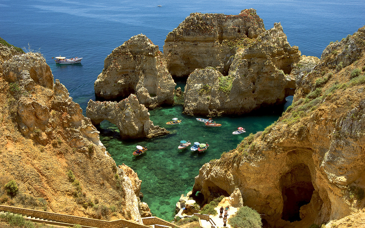 Genießen Sie das Meer in Ponta da Piedade während Longstay Portugal, Lagos | Sunbirdie