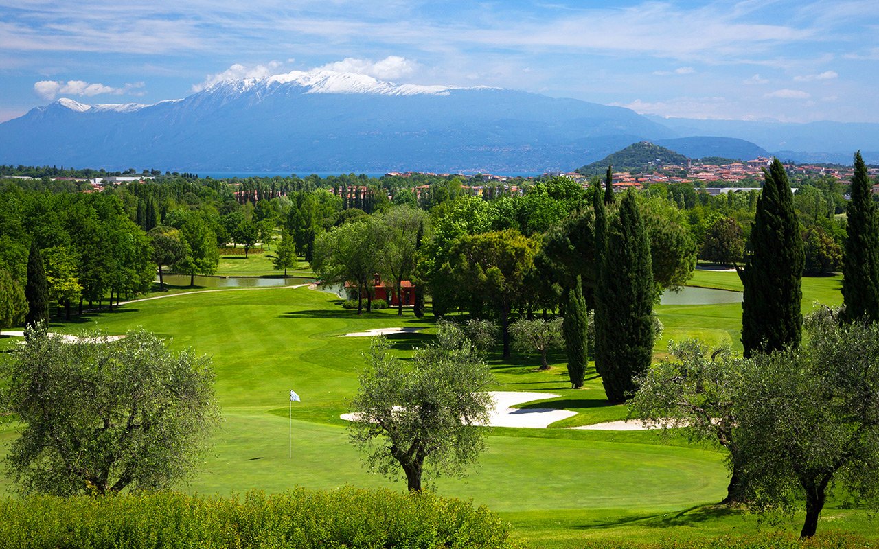 Longstay Italien mit schönen Golfplätzen am Garda Sunbirdie