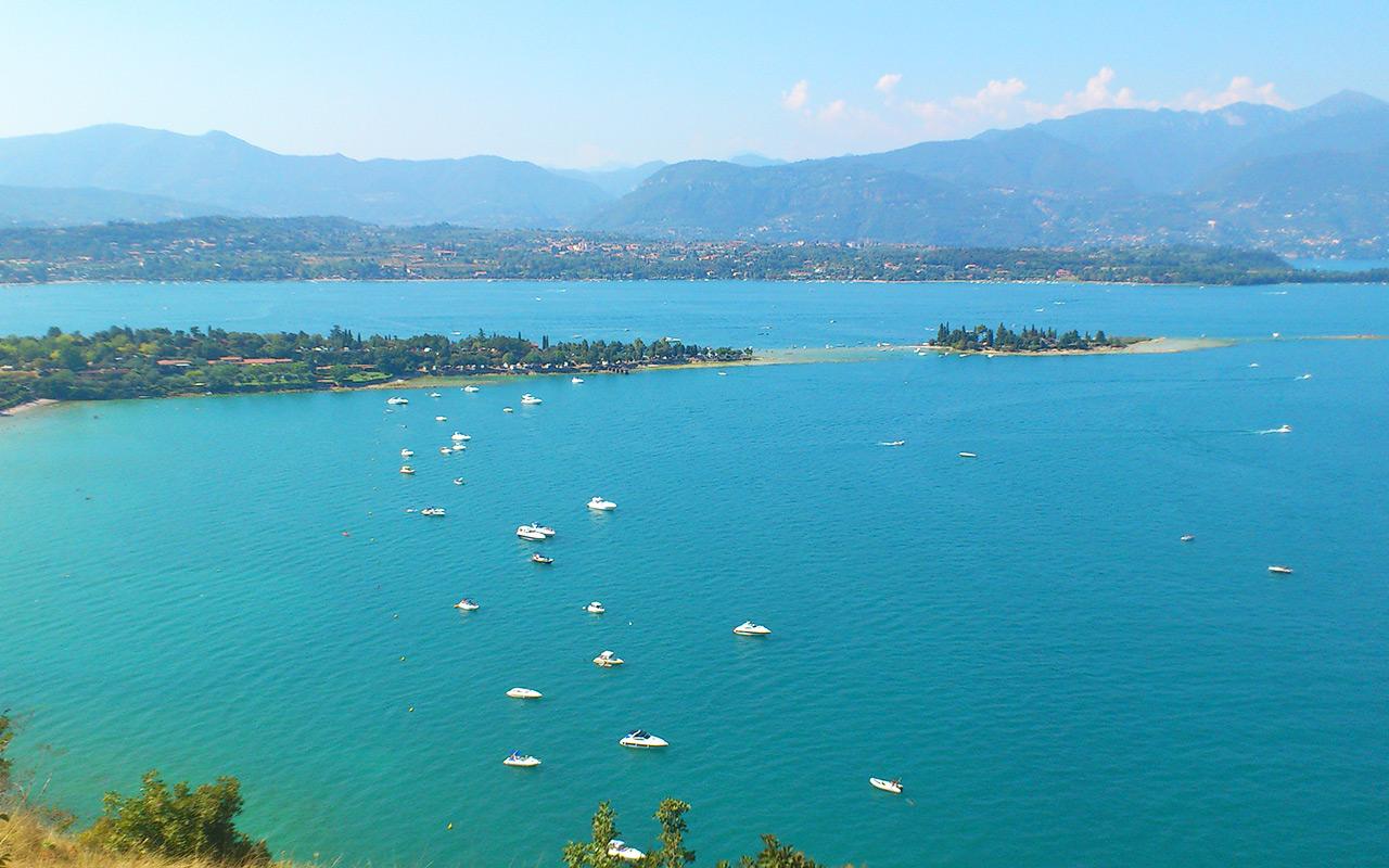 Longstay italien Moniga del Garda mit schöner Aussicht auf das Wasser | Sunbirdie