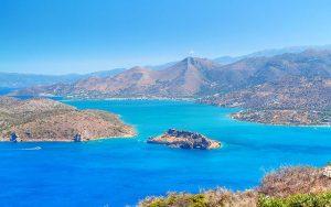 Golfreisen nach Grekland Kreta mit wunderschönem Seeblick